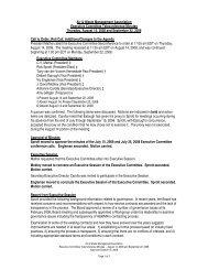 Thurs, Aug 14 & Sept 22 - Air & Waste Management Association