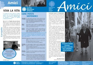 AmiciCaritas 200702.pdf - Caritas Roma
