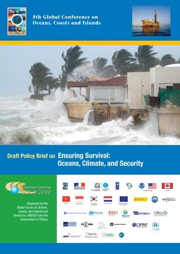 Policy Brief on Oceans and Climate - Global Ocean Forum