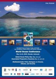 World Ocean Conference World Ocean Conference - Global Ocean ...