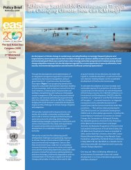 Achieving Sustainable Development Targets in a Changing Climate ...