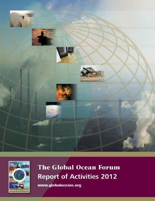 Report of Activities 2012 - Global Ocean Forum