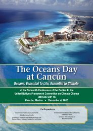 Oceans Day at Cancun Summary - Global Ocean Forum