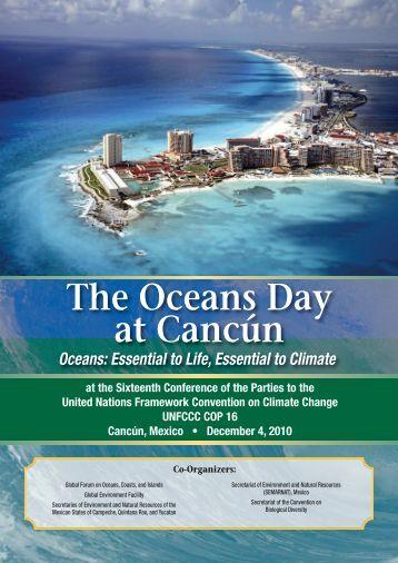 Oceans Day at Cancun Summary - Global Ocean Forum