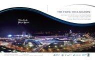THE YEOSU DECLARATION: - Global Ocean Forum