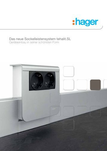 Das neue Sockelleistensystem tehalit.SL - Sonepar