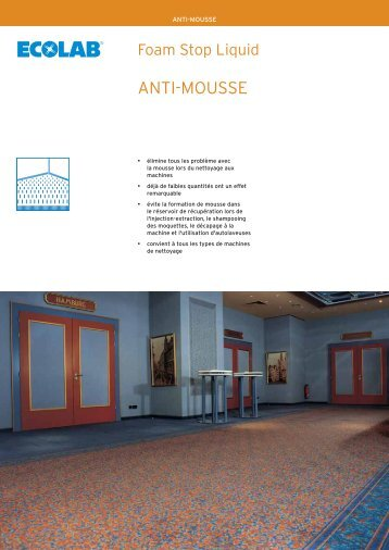 ANTI-MOUSSE - Ecolab Inc.