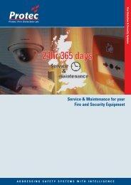 Download Service & Maintenance Brochure... - Protec Fire Detection