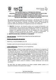 1 INVITACION PUBLICA A PRESENTAR OFERTAS PROCESO DE ...