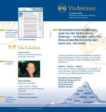 Weiterlesen - ViaSanitas