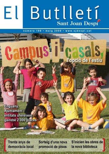 El Butlletí 199.pdf - Ajuntament de Sant Joan Despí