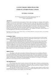 layout design principles for cross platform publications
