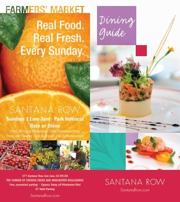 Dining Guide - Santana Row