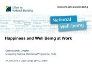 Happiness and Well Being at Work - Humanistic Management Center