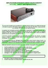 AMPLIFICATORE INTEGRATO IBRIDO VALVOLE ... - Docet Lector
