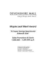 "Maple Leaf Merit Award ""XL Super Savings Spectacular ... - doze!gfx"