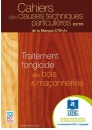 cctp traitement fongicide des bois et maconneries octobre 2011