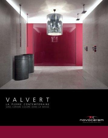 Catalogue Valvert - Novoceram