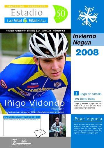 Descargar Descargar Revista Invierno 2008 - Fundacion Estadio, SD