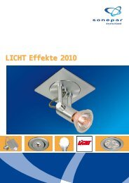 LICHT Effekte 2010 - Sonepar