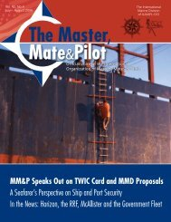 MM&P Speaks Out on TWIC Card and MMD Proposals A Seafarer's ...