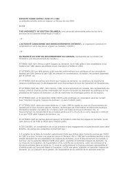 Entente cadre pour le transfert du register point-CA - CIRA