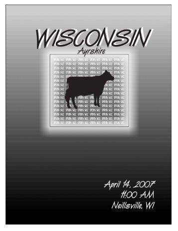 2007 Spring Sale Catalog - U.S. Ayrshire Breeders Association