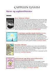 Barne- og ungdomslitteratur - Bok og samfunn