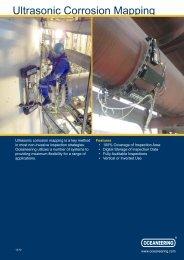 Ultrasonic Corrosion Mapping - Oceaneering