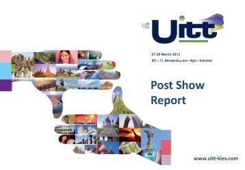 Download Post Show Report UITT 2013 (pdf 1,9 Mb)
