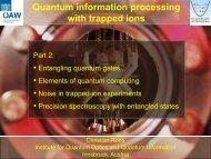 Folie 1 - SUSSP67: Quantum Information & Coherence