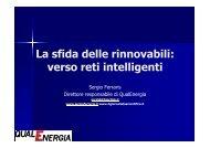QualEnergia Forum Ferraris smart grid 2012 - La Nuova Ecologia