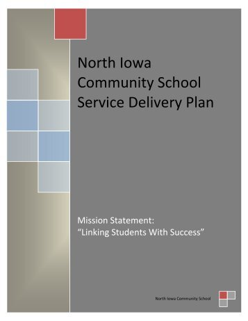 North Iowa Special Education Plan 2013 - North Iowa Community ...