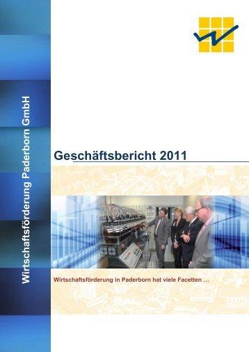 Geschäftsbericht 2011 - Paderborn.de