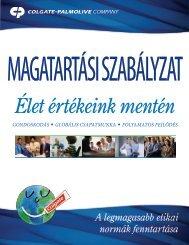 Élet értékeink mentén Gondoskodás • Globális ... - Colgate