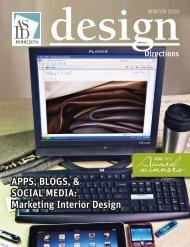 Apps, Blogs, & sociAl MediA: Marketing interior design - ASID