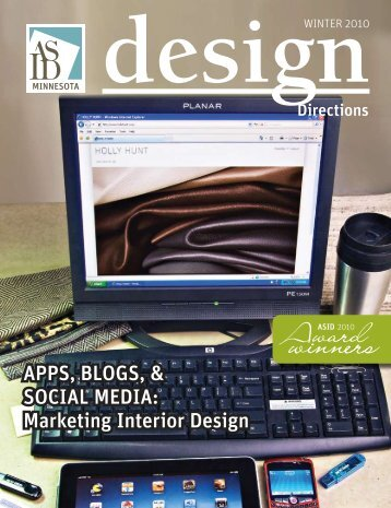 Apps, Blogs, & sociAl MediA: Marketing interior design - ASID