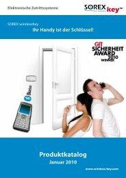 "keyâ""¢ - SOREX - Wireless Solutions GmbH"