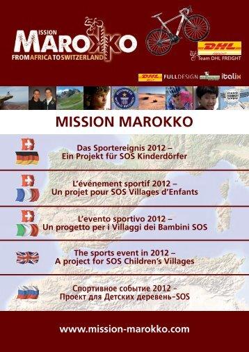 MISSION MAROKKO