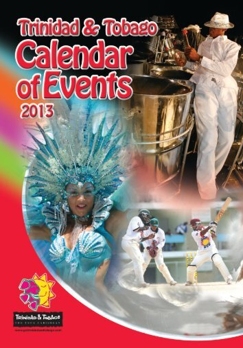 TDC 2013 Calendar of Events Jan 18 - Trinidad and Tobago