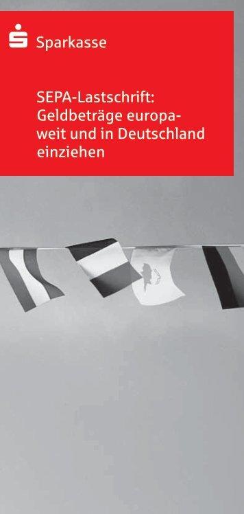 SEPA Lastschrift Flyer