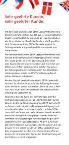 SEPA Lastschrift Flyer - Seite 2