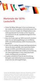 SEPA Lastschrift Flyer - Seite 3