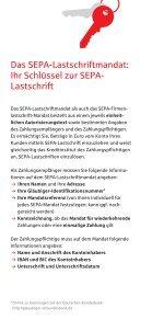 SEPA Lastschrift Flyer - Seite 5