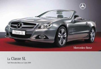 13 - SL:Tarifs - Sitesreseau.mercedes.fr - Mercedes-Benz France