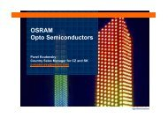 OSRAM Opto Semiconductors - SOS electronic