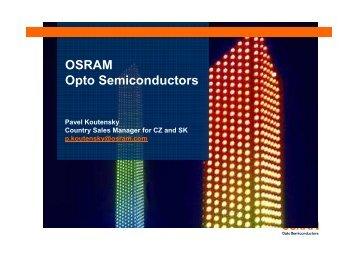 OSRAM Opto Semiconductors - SOS electronic