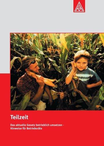 """""""Teilzeit"""" PDF - IG Metall"""