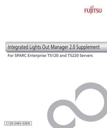 Integrated Lights Out Manager 2.0 Supplement