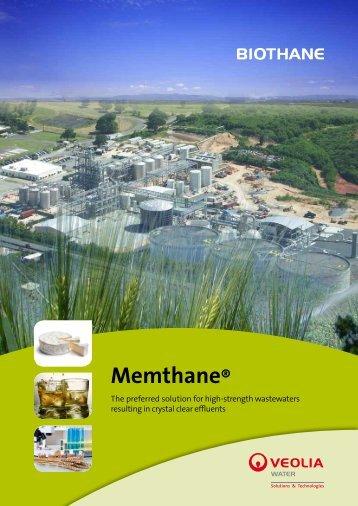 Memthane® - Veolia Water Solutions & Technologies